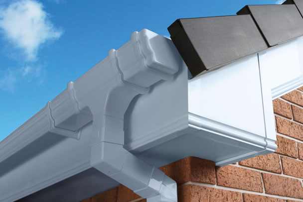 a roofline installation in East Grinstead