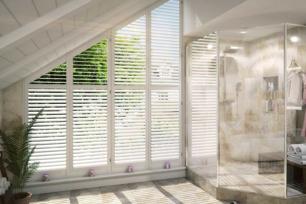 an image showing that we offer a wide range of window shutters in East Grinstead